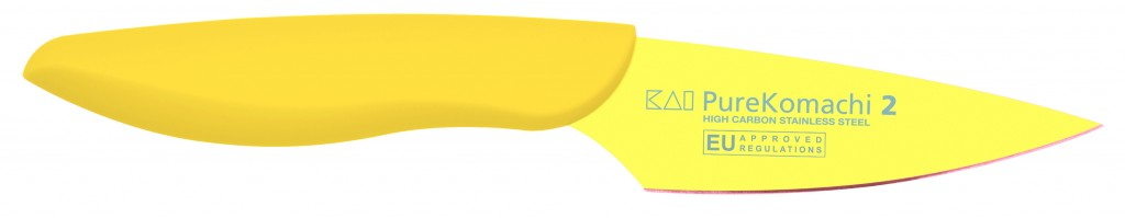 Cuchillo Mondador Amarillo 10cm Línea Pure Komachi 2 - KAI AB-5700 1575020