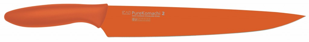 "Cuchillo Fileteador Naranja 23cm 9"" Línea Pure Komachi 2 - KAI AB-5704 1575024"