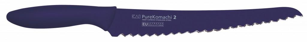 """Cuchillo Panero Violeta 20cm 8"""" Línea Pure Komachi 2 - KAI AB-5705 1575025"""