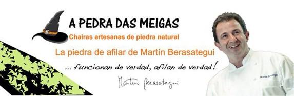 A Pedra Das Meigas 600/29-2 - La piedra de afilar de Martín Berasategui. Cuchillalia.com