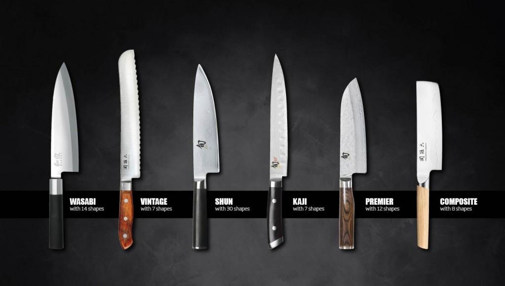 Tipos cuchillos japoneses