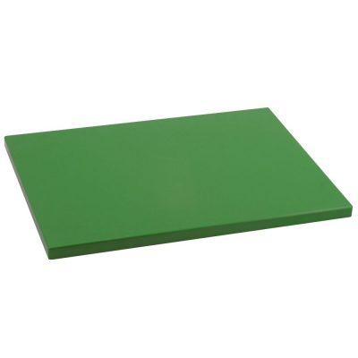 Tabla de Cortar en Polietileno (PE-500) Metaltex 33x23 cm espesor 15 mm color VERDE - 73331536 - Cuchillalia