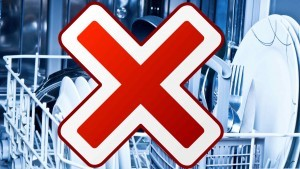 Prohibido lavar los cuchillos en el lavavajillas