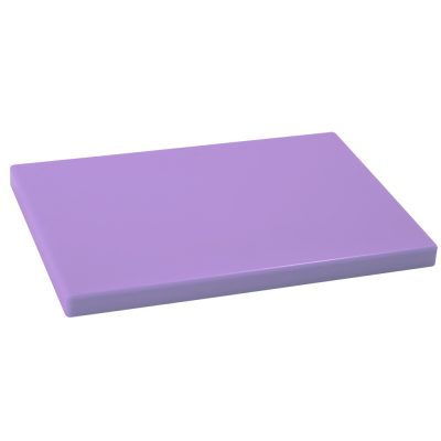 Tabla Cortar Polietileno (PE-500) Metaltex 33x23cm espesor 15mm color LAVANDA