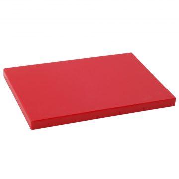 Tabla Cortar Polietileno (PE-500) Metaltex 33x23cm espesor 20mm color ROJA