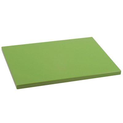 Tabla de Cortar en Polietileno (PE-500) Metaltex 33x23 cm espesor 15 mm color VERDE KIWI - 73331512 - Cuchillalia