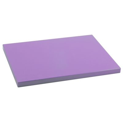 Tabla Cortar Polietileno (PE-500) Metaltex 38x28cm espesor 15mm color LAVANDA