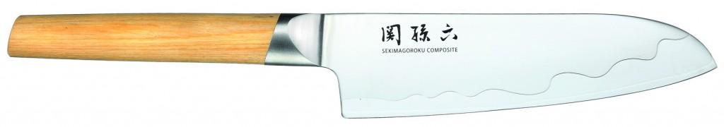 Cuchillo Santoku 16,5cm 6,5″ Línea Seki Magoroku Composite – KAI MGC-0402