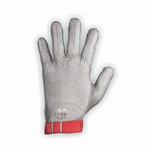 Guante de Malla de Acero Niroflex fm+ Nylon talla M Rojo 1900103