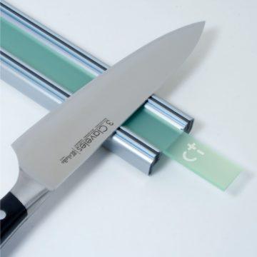 Bisbell 17202 – Barra/Soporte Magnética Acrílico Verde y Aluminio 30 cm