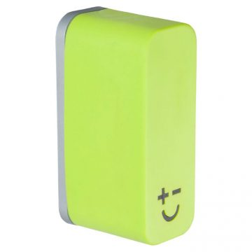 Bisbell 17217 – Soporte Magnético Goma – Soft Touch Verde (max. 2 cuchillos)