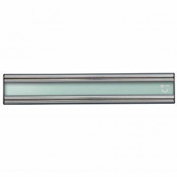 Cuchillalia – Bisbell 17202 – Barra/Soporte Magnética Acrílico Verde y Aluminio 30 cm