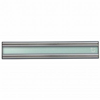 Cuchillalia - Bisbell 17202 - Barra/Soporte Magnética Acrílico Verde y Aluminio 30 cm