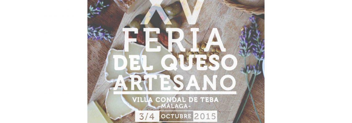 Cartel Feria Queso Teba 2015