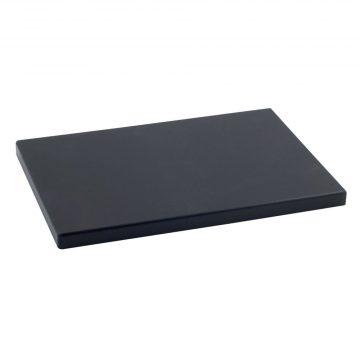Tabla Cortar Polietileno (PE-500) Metaltex 50x30cm espesor 20mm color NEGRO