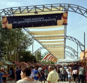 Entrada a la Feria-Mercado del Queso Artesano de Andalucía 2015