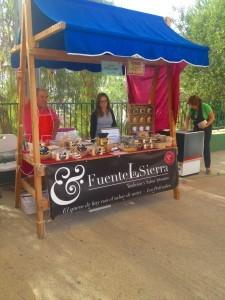 Puesto de Fuente La Sierra (Los Pedroches) en la Feria-Mercado del Queso Artesano de Andalucía 2015