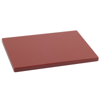 Tabla Cortar Polietileno (PE-500) Metaltex 33x23cm espesor 15mm color MARRON