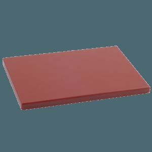 Tabla Cortar Polietileno (PE-500) Metaltex 33x23cm espesor 15mm color MARRON