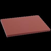 Tabla Cortar Polietileno (PE-500) Metaltex 38x28cm espesor 15mm color MARRON