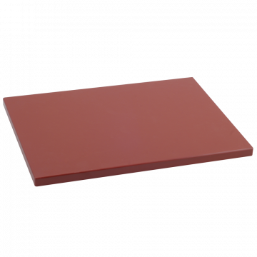 Tabla Cortar Polietileno (PE-500) Metaltex 38x28cm espesor 15mm color MARRON