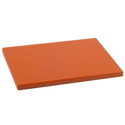 Cuchillalia - Tabla Cortar Polietileno (PE-500) Metaltex 29x20cm espesor 15mm color NARANJA / MANDARINA - 73291516