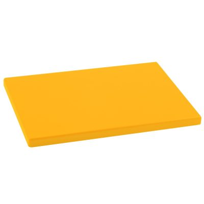 Cuchillalia - Tabla Cortar Polietileno (PE-500) Metaltex 29x20cm espesor 15mm color AMARILLA - 73291528