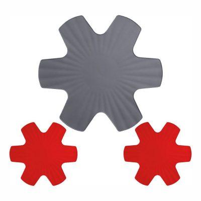 Kit de 3 protectores de silicona para sartenes - Woll PPSET1 - Cuchillalia