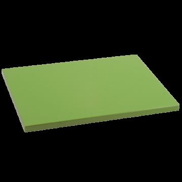 Tabla Cortar Polietileno (PE-500) Metaltex 29x20cm espesor 15mm color VERDE KIWI