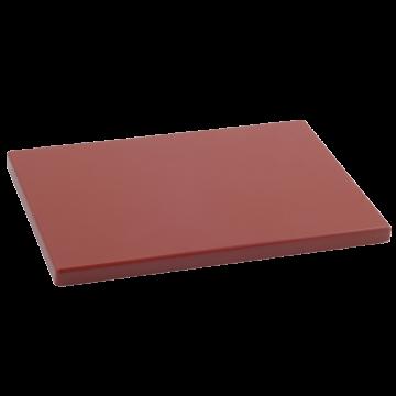Cuchillalia – Tabla Cortar Polietileno (PE-500) Metaltex 29x20cm espesor 15mm color MARRON