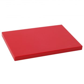 Tabla Cortar Polietileno (PE-500) Metaltex 29×20 cm espesor 15 mm color ROJO
