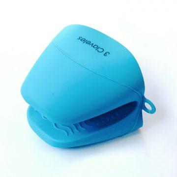 Guante para Horno de Silicona Azul – 3 Claveles 4644