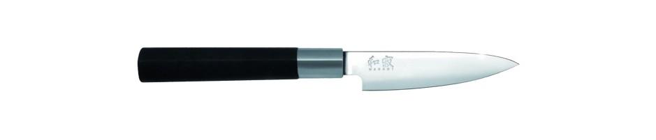 KAI 6710P Wasabi Black - Cuchillo mondador de 10 cm