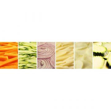 Cuchillalia – Mandolina KAI BK-0206 Michel Bras – Muestras de verduras cortadas