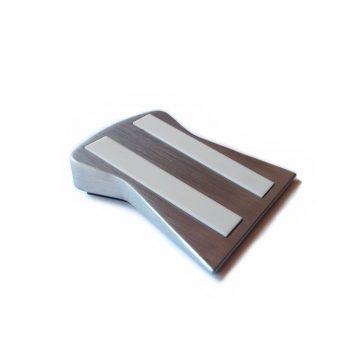 Cuchillalia – Wüsthof 4349 – Guía de afilado de cuchillos en piedra (base cerámica)