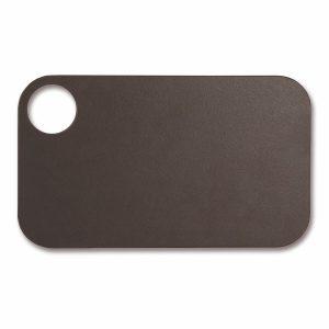 Tabla de corte Arcos 691500 de 24x14 cm, Marrón, en fibra de celulosa y resina - Cuchillalia