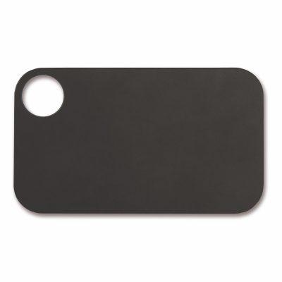Tabla de corte Arcos 691510 de 24x14 cm, Negra, en fibra de celulosa y resina - Cuchillalia