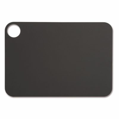 Tabla de corte Arcos 691610 de 33x23 cm, Negra, en fibra de celulosa y resina - Cuchillalia
