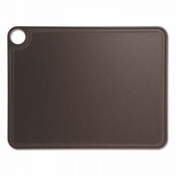 Tabla de corte Arcos 692300 de 42.7×32.7 cm, Marrón, RANURADA, en fibra de celulosa y resina – Cuchillalia