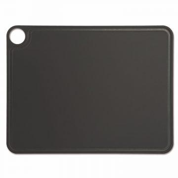 Tabla de corte Arcos 692310 de 42.7×32.7 cm, Negra, RANURADA, en fibra de celulosa y resina – Cuchillalia