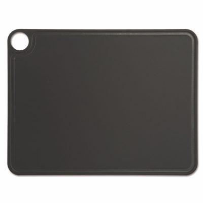 Tabla de corte Arcos 692310 de 42.7x32.7 cm, Negra, RANURADA, en fibra de celulosa y resina - Cuchillalia