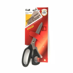 Tijera para costura KAI N5210 con mango ergonómico 210 mm - Blister - Cuchillalia