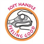 Logo Soft handle - Feeling good - Mangos suaves de las tijeras de KAI serie N5000