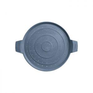 Tapa antisalpicaduras de silicona de 24 cm Woll SG24. Salvamantel - Cuchillalia