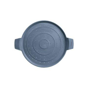 Tapa antisalpicaduras  de silicona de 24 cm Woll SG24. Salvamantel – Cuchillalia