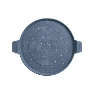Tapa antisalpicaduras de silicona de 28 cm Woll SG28. Salvamantel - Cuchillalia