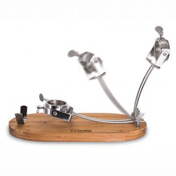 Soporte jamonero con cabezal giratorio 3 Claveles 1733 (plegando) – Cuchillalia