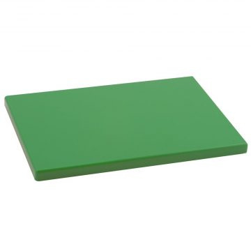 Tabla Cortar Polietileno (PE-500) Metaltex 29×20 cm espesor 15 mm color VERDE