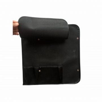 Manta / Estuche para 6 cuchillos abierta (interior con protección), fabricado por Wüsthof, referencia 7370 – Cuchillalia