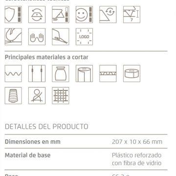 Características del cúter de seguridad Martor Secumax Easysafe – Cuchillalia